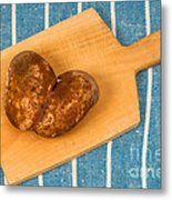 Hearty Potatoe Metal Print