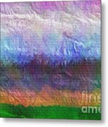 Heaven And Earth Mixed Media Painting Metal Print