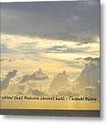 Heaven Metal Print by BandC  Photography