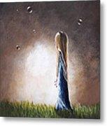 Heaven Heard Her Prayers Tonight By Shawna Erback Metal Print