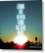 Heaven Metal Print