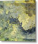 Heavenly Clouds Abstract Metal Print