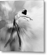 Heavenly Creature Bw Metal Print