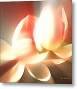 Heavenly Lilies Metal Print