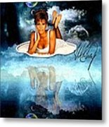 Heavenly Whitney - A Tribute Metal Print