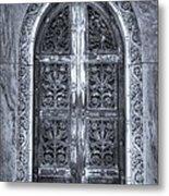 Heaven's Gate Bw Metal Print