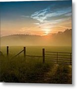 Heavens Gate Metal Print by Paul Herrmann