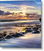 Heaven's Lights Metal Print