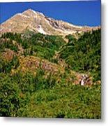 Heavens Peak Glacier International Peace Park Metal Print
