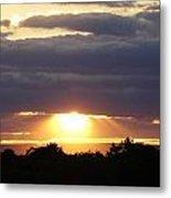 Heaven's Rays 3 Metal Print