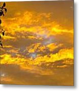 Heaven's Sky Metal Print by Andrea Dale