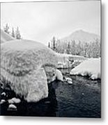 Heavy Burden Metal Print