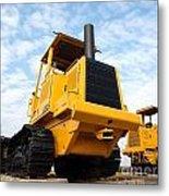 Heavy Construction Equipment Metal Print