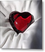 Heavy Heart Metal Print