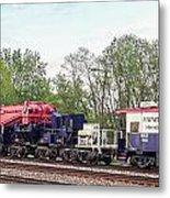 Heavy Lift 1m Pound Capacity Schnabel Train Set By Emmert International Metal Print