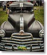 Heavy Metal 1941 Pontiac Metal Print