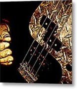 Heavy Metal Bass Metal Print