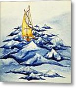 Heavy Seas Metal Print