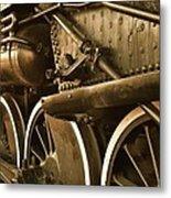 Heavy Steel Metal Print