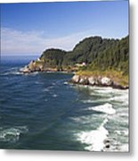 Heceta Head Lighthouse 2 A Metal Print