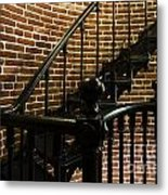 Heceta Head Lighthouse Interior 2 Metal Print