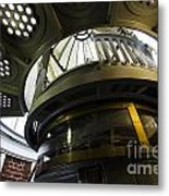 Heceta Head Lighthouse Interior 3 Metal Print