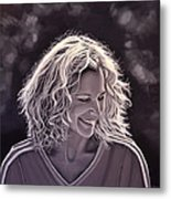 Heike Henkel Metal Print by Paul Meijering