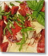 Heirloom Tomato Salad Metal Print