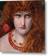Helen Of Troy Metal Print by Anthony Frederick Augustus Sandys
