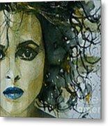 Helena Bonham Carter Metal Print