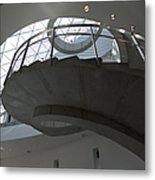Helical Staircase Metal Print