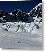 Helicopter New Zealand  Metal Print