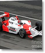 Helio Castroneves Indy Metal Print