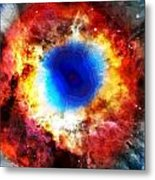 Helix Nebula Metal Print by Dan Sproul