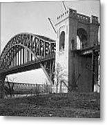 Hell Gate Bridge Metal Print