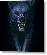 Hell Hound Metal Print