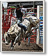 Hellicopter Ride Metal Print
