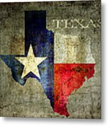 Hello Texas Metal Print