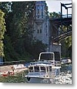 Helmsman 37 Yacht Metal Print