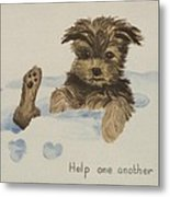 Help One Another Metal Print