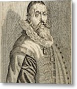 Hendrik Goltzius  Dutch Engraver Metal Print