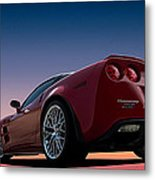 Hennessey Red Metal Print