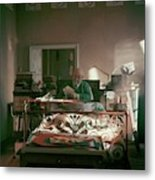 Henri Matisse In Bed Metal Print