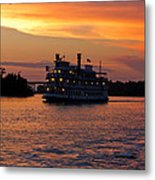 Henrietta II On The Cape Fear Metal Print