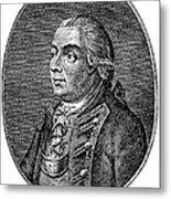 Henry Clinton (1738-1795) Metal Print