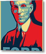 Henry Ford Metal Print