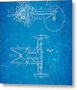 Henry Ford Transmission Mechanism Patent Art 1911 Blueprint Metal Print