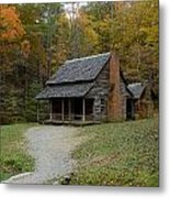 Henry Whitehead Place Cades Cove Gsmnp Metal Print
