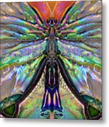 Her Heart Has Wings - Spiritual Art By Sharon Cummings Metal Print