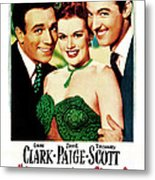 Her Kind Of Man, Us Poster, From Left Metal Print
